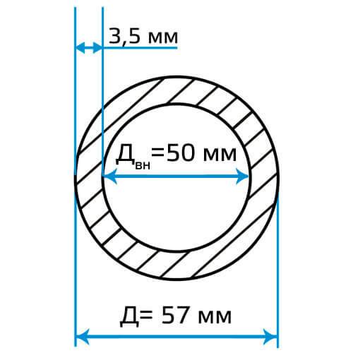 Труба ЭСВ 57x3.5